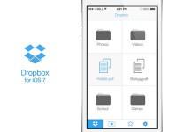 Dropbox for iOS 7 by Katarina Stefanikova