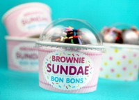Brownie Sundae Bon Bons DIY Tutorial | Hip Home Making