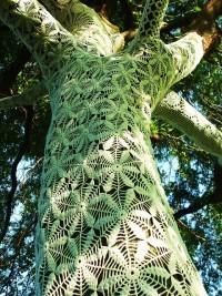 Amoebas Amoebas Everywhere! • Knit tree art