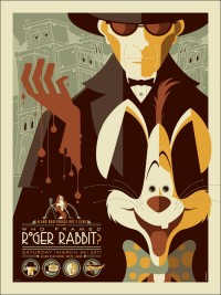 Amoebas Amoebas Everywhere! • Who Framed Roger Rabbit? by Tom Whalen