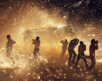 Thomas Prior Captures Amazing Images of a Mexican Fireworks Fight - The Fox Is Black