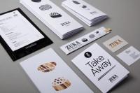 Zuka Restaurant Sant Cugat graphic design by Lo Siento Studio, Barcelona