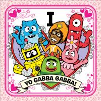 Yo Gabba Gabba! Heart Cards!