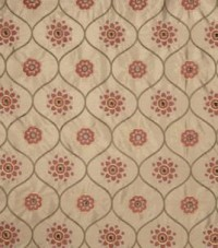 Home Decor Print Fabric- Jaclyn Smith Susette Terra Cotta & home decor print fabric at Joann.com