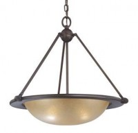 Minka Lavery 6248 Traditional / Classic Three Light Pendant from the Cimarron Collection