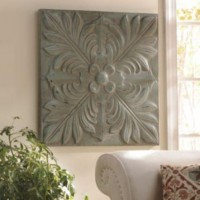 Slate Blue Medallion Tile Wall Plaque | Kirkland's