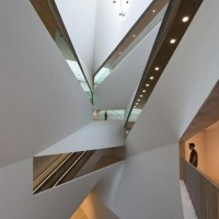 Architectural Design: Herta and Paul Amir Building at the Tel Aviv Museum of Art by Preston Scott Cohen   Interior Design Blog - Interior Design Ideas, Tips & Inspiration