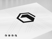 One Pixel - Brand Mark 3D Cube Logo Construction by Gert van Duinen