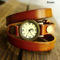 [grhmf21500003]Retro Wrap Handmade Leather Watch