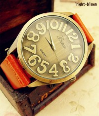 [grhmf21500007]Creative Genuine leather Belt Watch