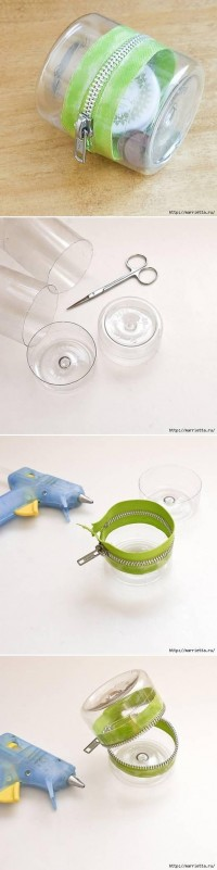 DIY Simple Plastic Bottle Storage Box DIY Projects | UsefulDIY.com