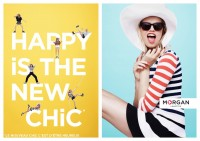Happy is the new chic.