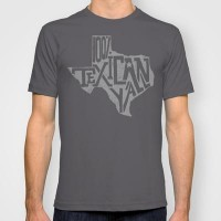 Texican Grey T-shirt by BarakTamayo | Society6