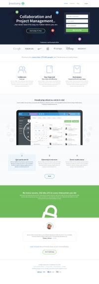 Freedcamp-Homepage.png by Bart Ebbekink