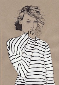 Stripes. | GORGEOUS WORDS & ILLUSTRATIONS