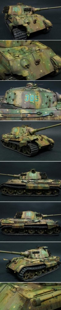 A Tiger II/Königstiger heavy tank | The Plastic Figure World