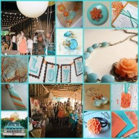 Google Image Result for http://keentobeseen.net/28%2520keentobeseen%2520aqua%2520orange%2520brown%2520wedding.jpg