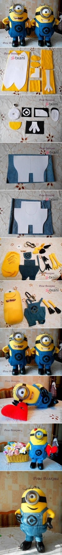 DIY Minion Dolls DIY Projects | UsefulDIY.com