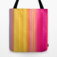 Society Sunset Tote Bag by Nina May | Society6