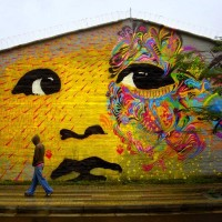Vandalog – A Street Art Blog » New work from Stinkfish in Colombia