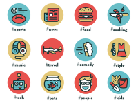 Tag Icons by Eric Ressler
