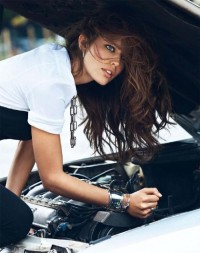 Emily DiDonato for Vogue Paris (September 2013) | One Inspiration magazine