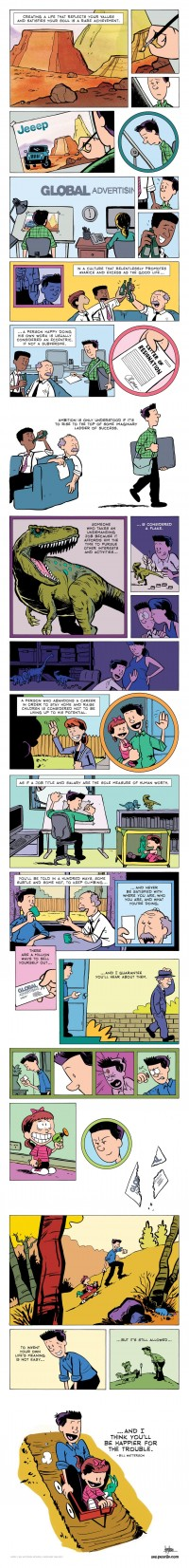 ZEN PENCILS - 128. BILL WATTERSON: A cartoonist's advice