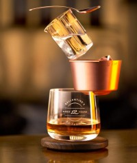 front: ballance drinking set for ballantine's whisky