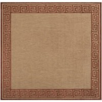 The Estensi Machine Made Area Rug in Tan | RugsNow.com