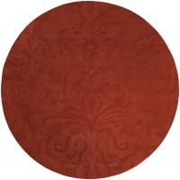 Surya Sculpture SCU-7514 Dark Red Rug - PlushRugs.com