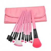 15 Pcs Pink Bag Special Makeup Brushes - makeupsuperdeal.com