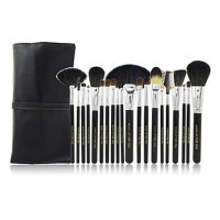 20Pcs Black High-grade Special Makeup Brush Set - makeupsuperdeal.com