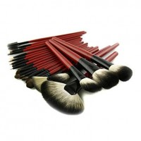 22Pcs Special High Quality Goat Hair Lady's Makeup Brushes Set - makeupsuperdeal.com