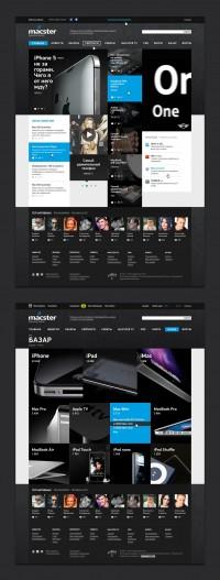 Freelancer Portfolio Alexander Laguta [fuge]. Site Design - Macster. Freelance, remote work on Free-lance.ru
