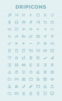 Dripicons - Free Icon Set (PSD/AI) - Designer First