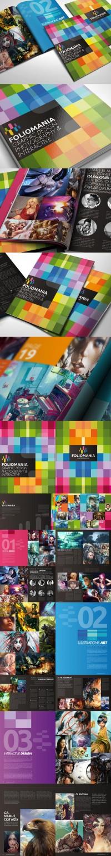 Foliomania the designer portfolio brochure - Brochures - Creattica