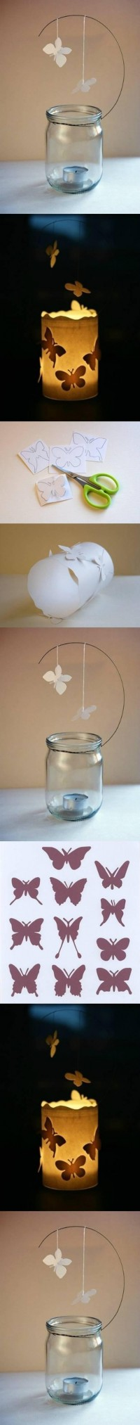 DIY Butterfly Candle Decor Ideas DIY Projects | UsefulDIY.com