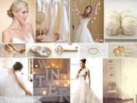 The Perfect Palette: {Gold Glitz & Glimmer}: A Palette of Gold, Ivory & White