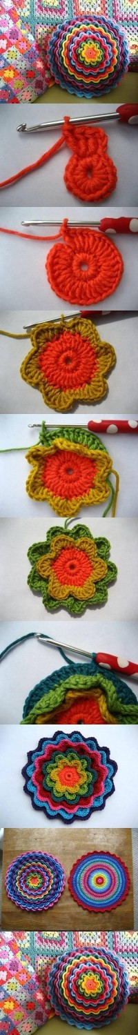 DIY Crochet Flower Pattern DIY Projects | UsefulDIY.com