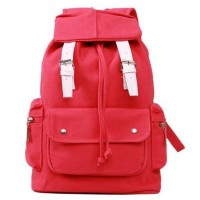 [grhmf22000169]British Style Leisure Canvas Camping Bag Schoolbag