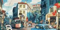 Lisbon by Sam Bosma - INPRNT
