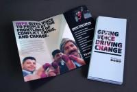 Hyperakt » Work » Institute for War & Peace Reporting » IWPR Identity Brochure