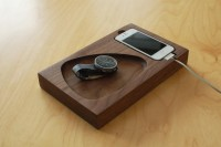 Timber Tray Docking Station - Design Milk