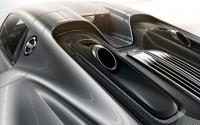 Porsche Spyder interior