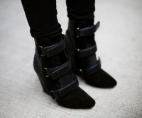 Fancy - Scarlet Wedge Bootie by Isabel Marant