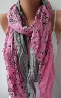 Scarf Cotton Elegant Scarf Cotton Scarf by ElegantScarfStore