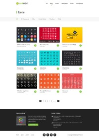 Limelight - Free Web Template (PSD) - Designer First