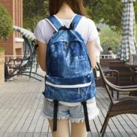 [grhmf22000162]Retro British Style Fashion Canvas Backpack