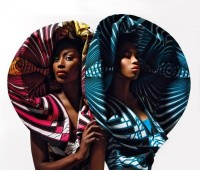 "Vlisco presents ""Dazzling Graphics"" – View the Complete Ad Campaign Exclusively on BN 