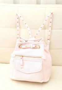 Street-chic Style Rivet Motrocycle Backpack from Her-Collection on Storenvy